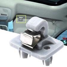 Sun Visor Clip Holder Hook Bracket Gray for Audi A1 A3 S3 A4 S4 A5 S5 Q3 Q5