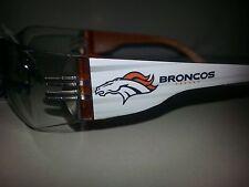 NFL Denver Broncos safety glasses PICK LENS AT CHECKOUT SEE PHOTO OPTIONS