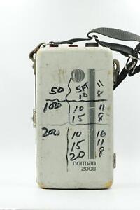 Norman 200B Portable Flash Strobe Power Pack [Parts/Repair] #129