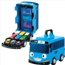 THE LITTLE BUS TAYO & FRIENDS Diecast Carrier Mini Car Storage Blue Bus Toys
