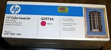 Unopened Genuine OEM HP Q3973A Magenta 2550 2820 2840 LaserJet Toner Cartridge