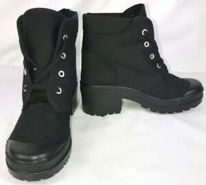 """NEW On Your Feet Black """"Once More CVS"""" Ankle Chunky Heel Boots Choose Your Size!"""