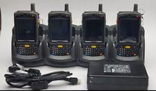 LOT OF 4 Motorola MC75A MC75A6-P4CSWQRA9WR Mobile Handheld Barcode Scanner - PDA