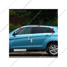 For Mitsubishi Outlander Sport ASX 201~2019 Steel Upper Window Cover Trim - 8pcs