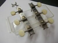 Rare 60's El Cometa - Mexico 3 x 3 acoustic guitar tuners - tuning pegs - Kay