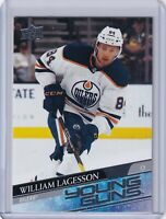 WILLIAM LAGESSON Young Guns Rookie Card 2020 21 Upper Deck SER 2 OILERS #479