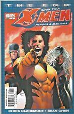 X-MEN THE END : HEROES & MARTYRS #1  MISTER SINISTER  MARVEL 2005 NICE!!