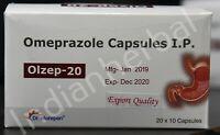 600 Capsules OTC 20mg Omeprazole EXP Jan 2021 Acid Reducer