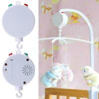 35 Song Rotary Baby Mobile Crib Bed Toy Clockwork Movement Music Box Infant Bell