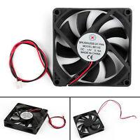 4x DC Brushless Ventilateur de Refroidissement 12V 8015s 80x80x15mm 0.16A 2Pin ,