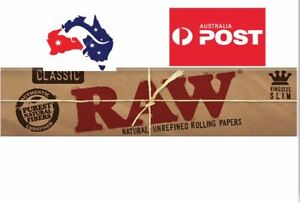 2 X  RAW Classic King Papers + free shipping