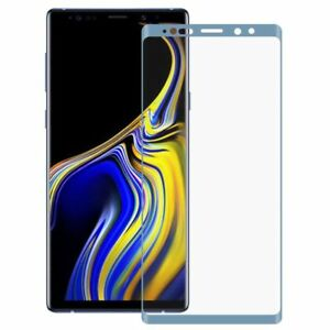 Hybrid TPU gebogene Panzer Folie Blau Schutz für Samsung Galaxy Note 9 N960F Neu