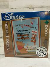 Disney The Many Adventures of Winnie the Pooh Jigsaw Puzzle 1000 Piece W/ Poster