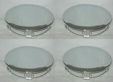 4 CAP DEAL 1991-1995 FORD MUSTANG PONY CHROME WHEEL RIM CENTER CAPS 941517