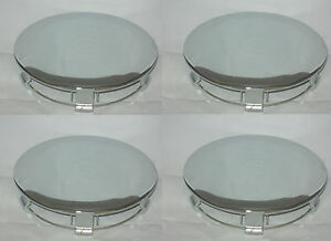 4 CAP DEAL 1991-1995 FORD MUSTANG PONY CHROME WHEEL RIM CENTER CAPS 941517