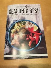 Pampered Chef Season's Best Cookbook Spring / Summer 2018 Color New
