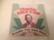 Charley Patton - Founder Of The Delta Blues 1929-34 CD (1989)