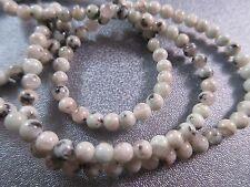 Kiwi Jasper Round 4mm Beads 95pcs