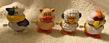 Wind Up Easter Toys Lot of 4 Barnyard Animal-Cow Pig Sheep Chicken NEW Fast Ship