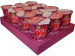 Vimto Candy Floss 20g Tub (Pack of 12) - British Candy & Sweets