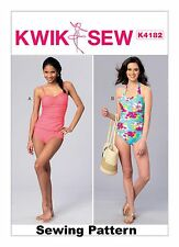 Kwik Sew K4182 PATTERN Misses Swimsuits Pattern Sizes XS-XL