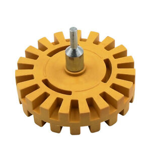 Stripe Decal Removal Removal Wheel Fluted Toffee Caramel Drill Heavy Duty HOT