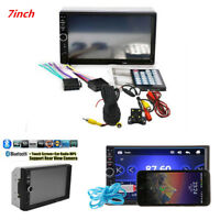 "7"" Car Suv Touch Screen Radio Audio Stereo MP5 MP3 Player 2Din USB FM Bluetooth"