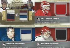 2013-14 IN THE GAME BETWEEN THE PIPES SEMYON VARLAMOV  DUAL JERSEY