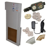 Power Pet Large Electronic Automatic Pet Door FACTORY  DIRECT From HIGH TECH PET