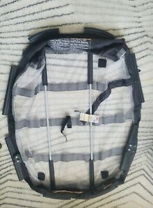 Graco Pack N Play Replacement Clip on Mesh BASSINET Insert w/ Vibrator Cable