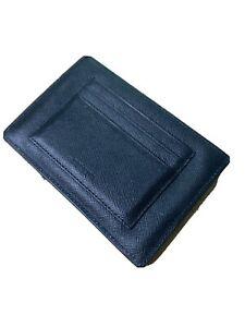 Prada Passport Wallet Black Leather