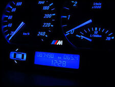 BMW E39 LED BLUE DASH CONVERSION SPEEDO INSTRUMENT CLUSTER (red-white-blue)