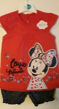 Baby Girls Minnie Mouse 2 Piece Set George 9-12 Months