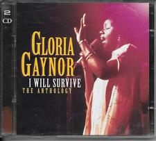 2 CD BEST OF 25 TITRES--GLORIA GAYNOR--I WILL SURVIVE / THE ANTHOLOGY