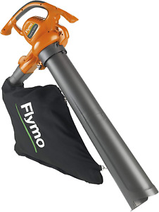 Flymo PowerVac 3000V Electric Blower, 3000W, 310 km/h Blow Speed