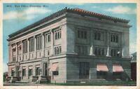 Postcard Post Office Cheyenne Wyoming
