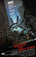 JOHN CARPENTER SIGNED ESCAPE FROM NEW YORK 11X17 MOVIE POSTER PSA COA AD48043