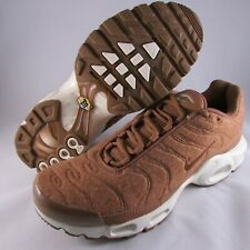 507db58d634b66 Nike Air Max Plus TN Running Shoes Quilted Brown Ale Sz 8.5 NWOB 806262-200