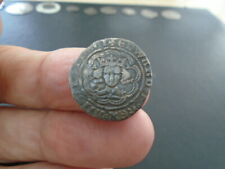 More details for king edward iii silver hammered half groat detecting field find