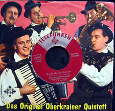 Single / ORIGINAL OBERKRAINER QUINTETT AVSENIK / RARITÄT / U 55 390 /