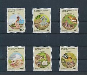 LO44694 Benin 1995 animals fauna flora birds fine lot MNH