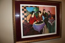 Tarkay  print (matted and framed)