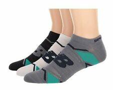 3 Pair New Balance Socks, Men's Shoe Size 10-12, Women's, No Show, Ankle, L13