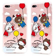 Cute Hello Kitty x Line TPU cellphone case for iPhone 7 Plus / iPhone 8 Plus