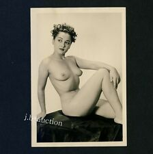 #452 RÖSSLER AKTFOTO / NUDE WOMAN STUDY * Vintage 1950s Studio Photo - no PC !