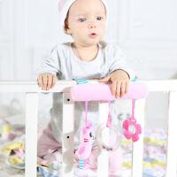 Cute Bunny Baby Trolley Infant Activity Toys Rattle Crib Stroller Pram Car Seat