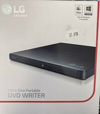 LG External Portable Slim GP65NB60 DVD-Writer Retail Pack - Black