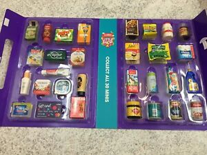 COLES Little Shop 2 Complete Set with Collector Case NEW Limited Edition RARE
