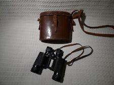 Vintage French Delacroix Paris 8x40 Binoculars & Case