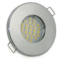 LED Bad Einbaustrahler Feuchtraum GU10 5W 430 Lumen 230V 3000K oder 6500K IP65